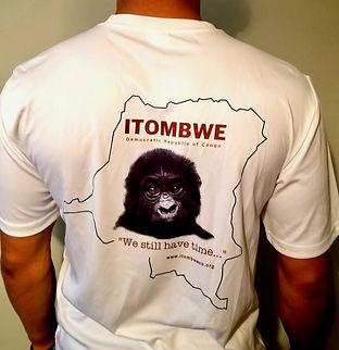 Itombwe Conservaton T-shirt-rear