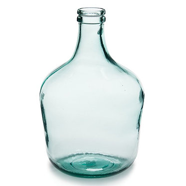 Recycled Glass Parisian Bottle