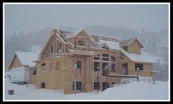 Bienasz House Under Construction
