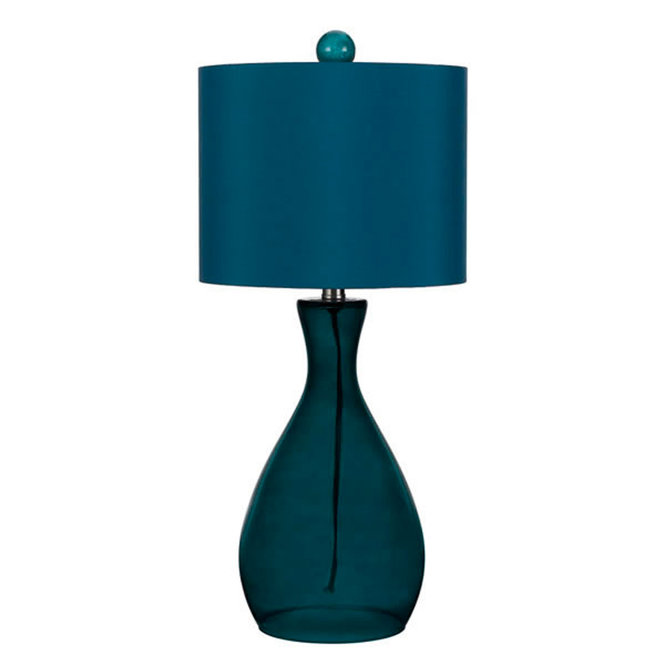 Tinianow - Solid Blue Table Lamp - SoL