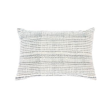 Cream and Blue 'Malibu' Pillow