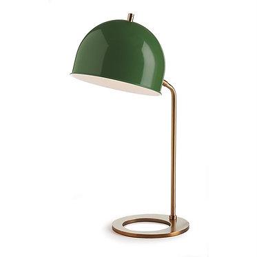 Green & Gold Desk Lamp