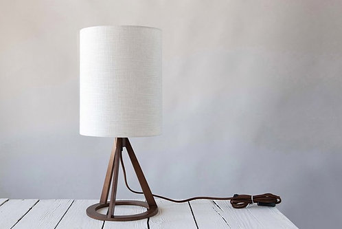 Funky Wood Table Lamp