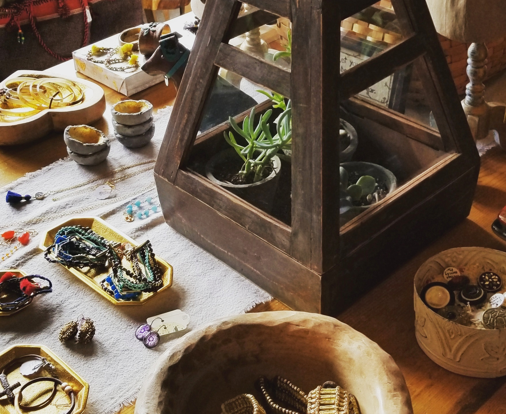 Shop - Jewelry and Terrarium