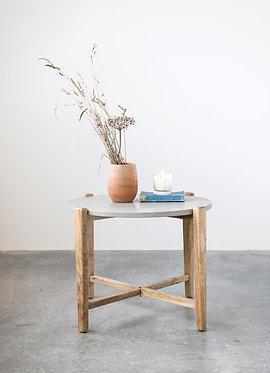 Stone and Mango Wood Table