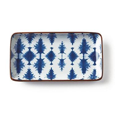Indigo Ceramic Tray