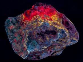 Calcite, Willemite, Smithsonite - Puttapa Australia
