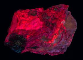Strontio-Aragonite, Boccheggiano Pyrite mine, Italy