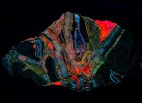 Willemite, Calcite from Puttapa, Australia