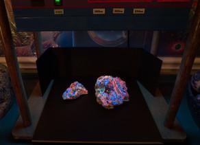 Fluorite, Calcite, Smithsonite, Willemite - Hogan claim AZ
