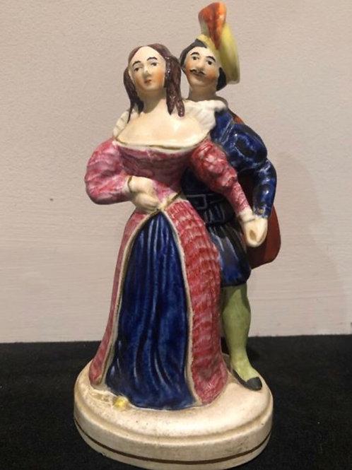 Victorian Staffordshire Renaissance Romancers