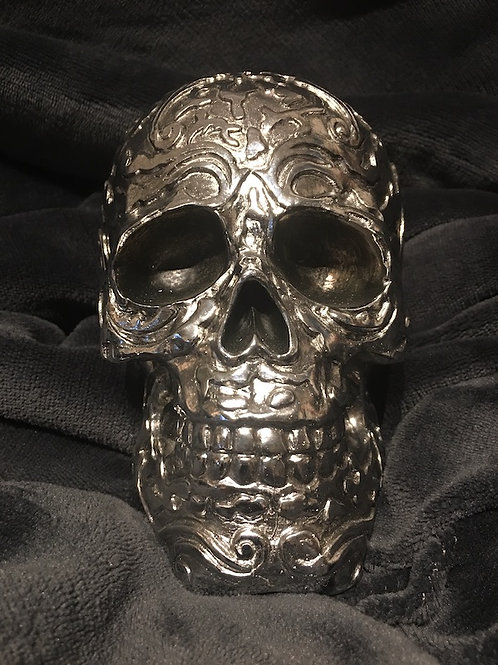King of Scrolls Skull