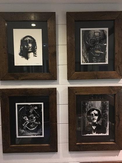 Gothic Ltd. Ed. Prints (set of 4)