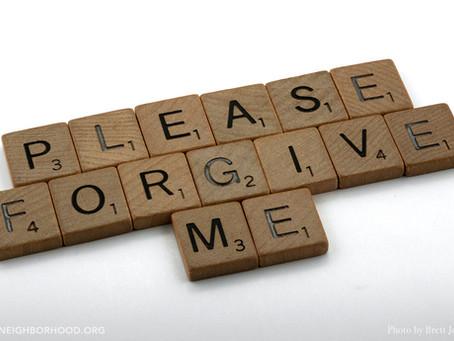 Forgiveness Among Neighbors