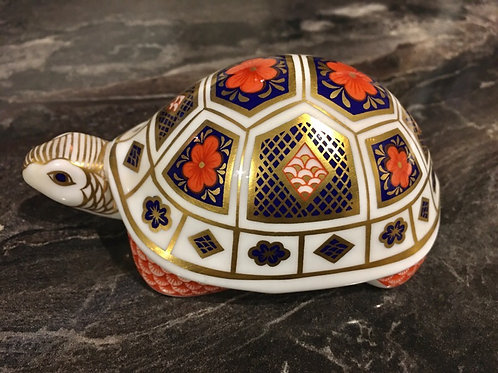 Royal Crown Derby Imari Turtle