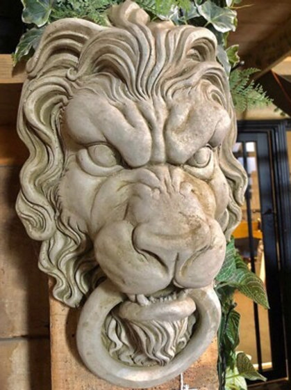 Lion head door knocker style