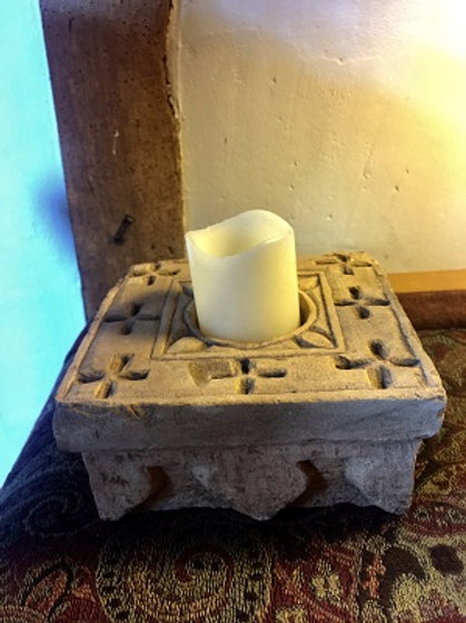Indian Sandstone Small Tealight Holder