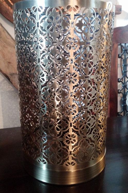 Moroccan Lattice Lamp