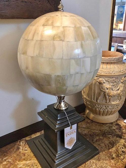 Large Spinning Globe Finial