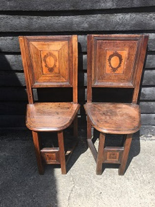 Pair of Antique Spanish Chairs
