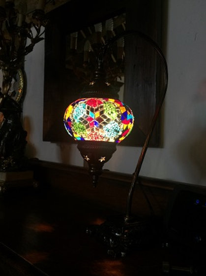 Rainbow Moroccan Lamp