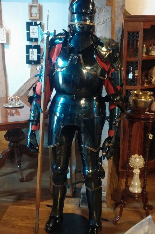 15th Century Style Full Set Battle Ready Armour