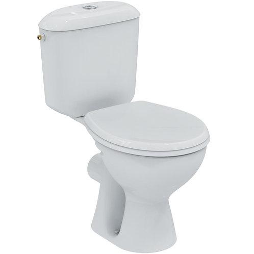 Pack WC NOE, sortie horizontale, blanc