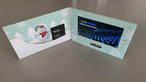 Send your company Christmas Wish in a Video Brochure...