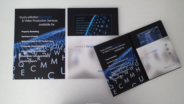 LCD Video Brochures