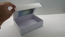 LCD Video Brochure Presentation Boxes & Ring Binders