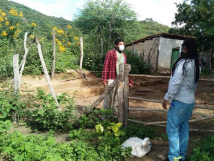 CDA inicia georreferenciamento de Comunidade Quilombola do município de Gentio do Ouro