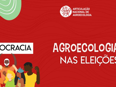 Conheça a Campanha Agroecologia nas Eleições