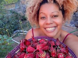 """""""Produzir e consumir alimentos saudáveis não pode ser um privilégio de cor"""". Fran Paula"""