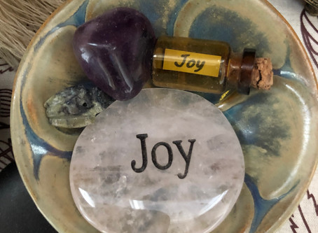 Moving from a place of joy
