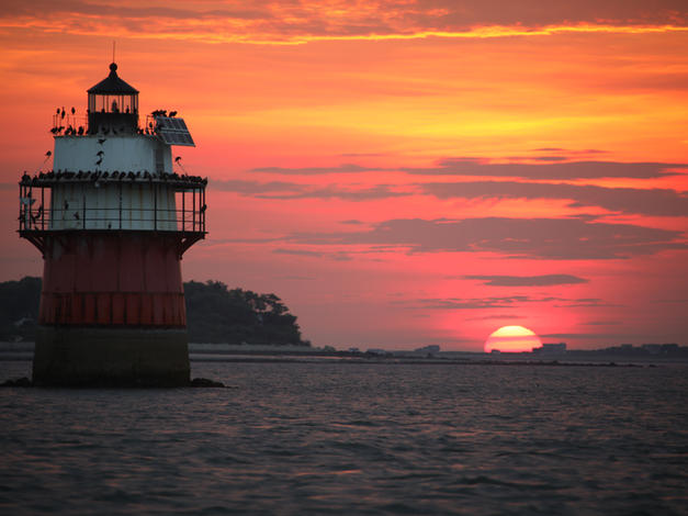 Bug Light Sunrise Sunset Plymouth