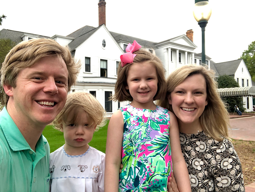 Family fun in Pinehurst...Shep's not so excited about some photos these days.