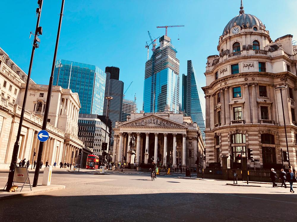 Bank Tube Station, London