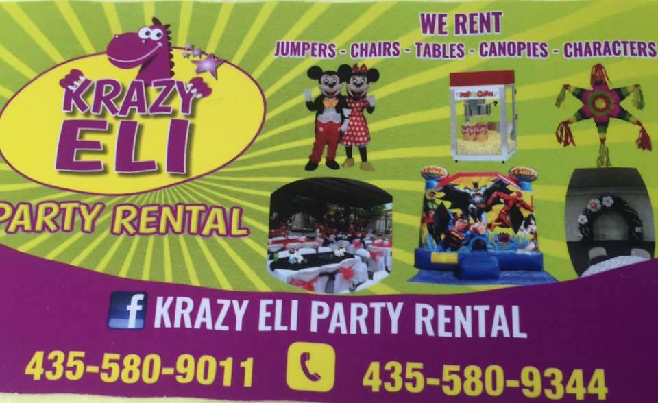 Crazy Eli Bounce Rental   435-580-9344