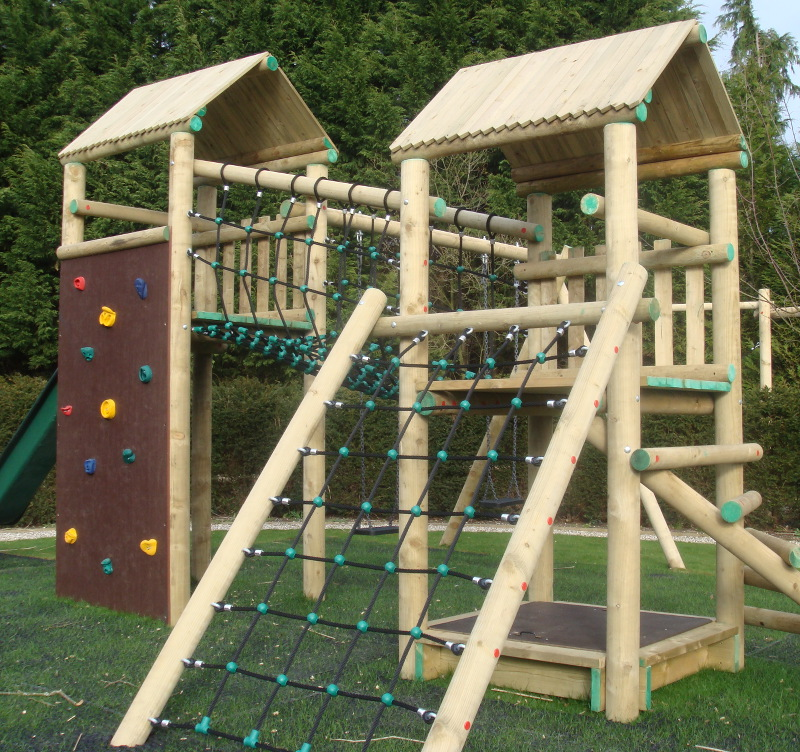 Forest Play Equipment