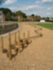 Wood Chip Safety Surface