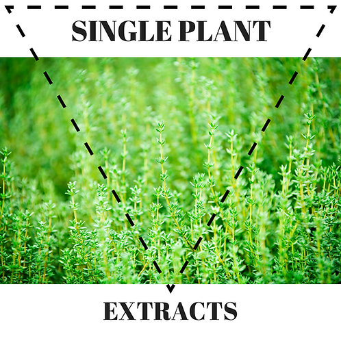 Single-plant extracts