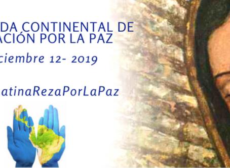 El CELAM convoca a una Jornada Continental de Oración por la Paz