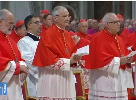 Investido Cardenal su eminencia Monseñor Álvaro Ramazzini, obispo de Huehuetenango, Guatemala