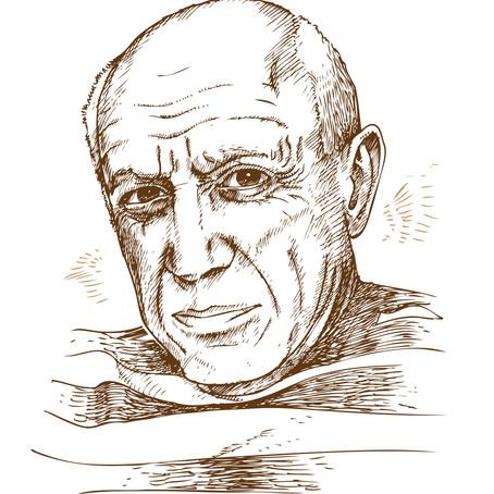 Blogging Against Stigma: Pablo Picasso