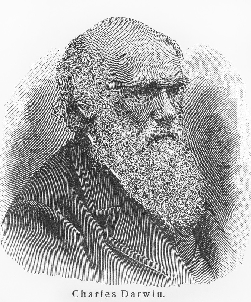 Famous scientist, Charles Darwin