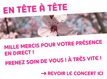02/04/20 Concert acoustique Facebook Live!