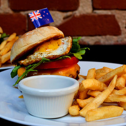 NZ Style Beef and Lamb Burger