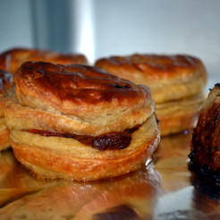 Kiwi style mini pies and Sausage Rolls