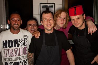Stephan Hentschel und Crew