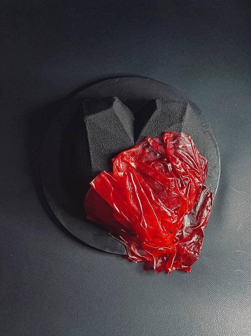 Торт «Чёрное сердце»